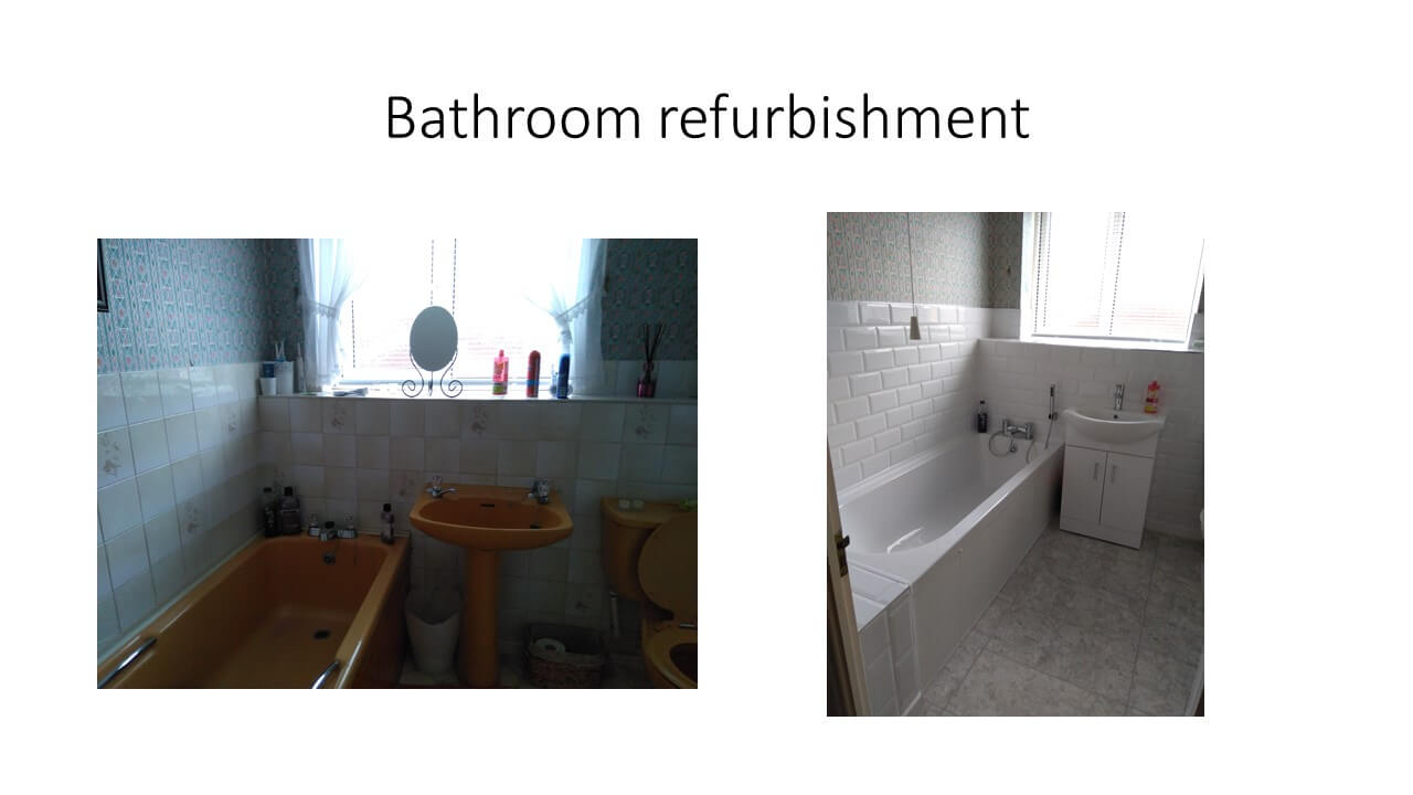 bathroom refurb for swainston