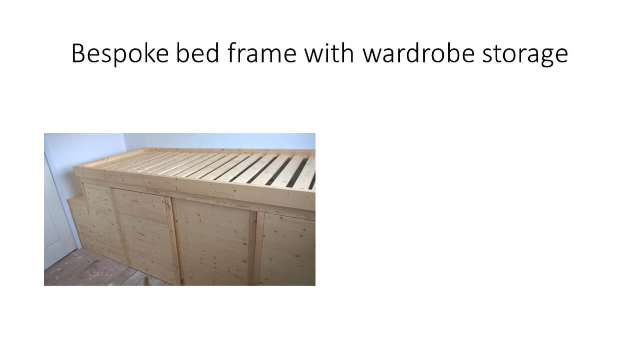 Bespoke Bed by Odd Job Done handyman
