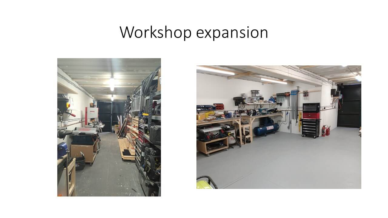 Odd Job Done Handyman Workshop Expansion